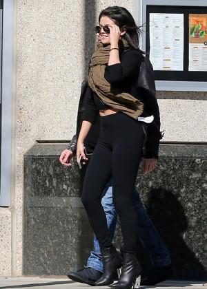 Selena Gomez in Tights -11
