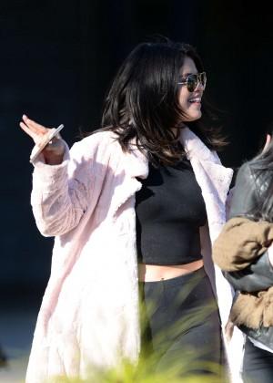 Selena Gomez in Tights -13