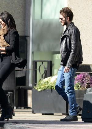 Selena Gomez in Tights -16