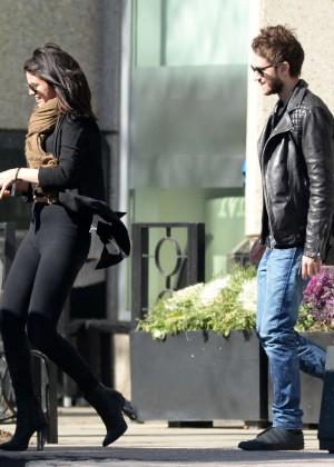 Selena Gomez in Tights -17