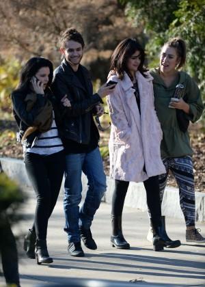 Selena Gomez in Tights -18