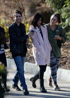 Selena Gomez in Tights -19