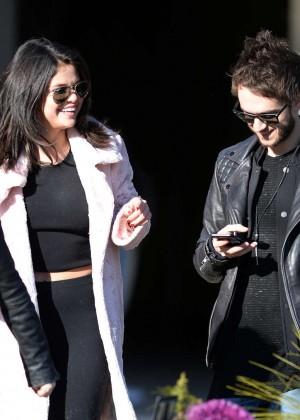 Selena Gomez in Tights -20