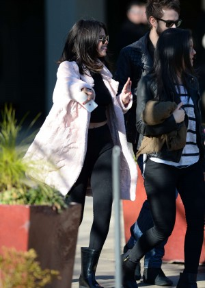 Selena Gomez in Tights -21