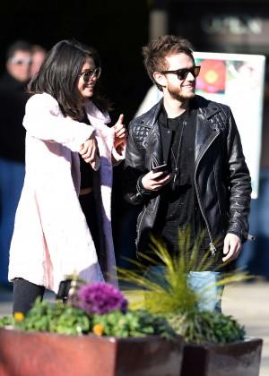Selena Gomez in Tights -26