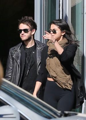 Selena Gomez in Tights -34