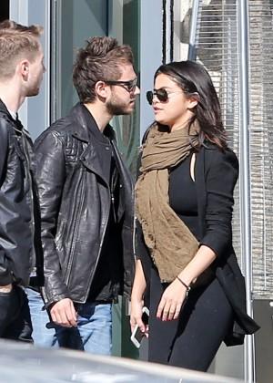 Selena Gomez in Tights -41