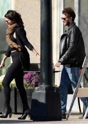 Selena Gomez in Tights -42