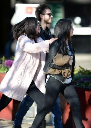 Selena Gomez in Tights -46
