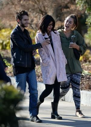 Selena Gomez in Tights -48