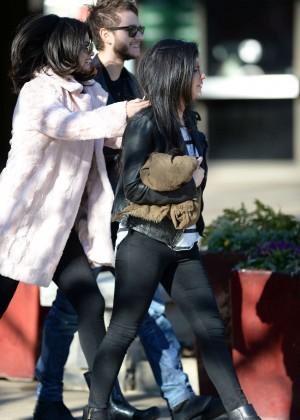 Selena Gomez in Tights -49