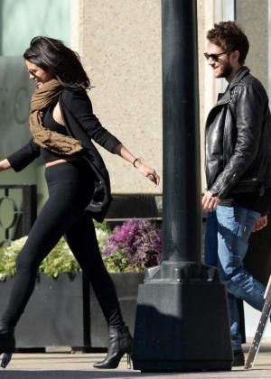 Selena Gomez in Tights -51