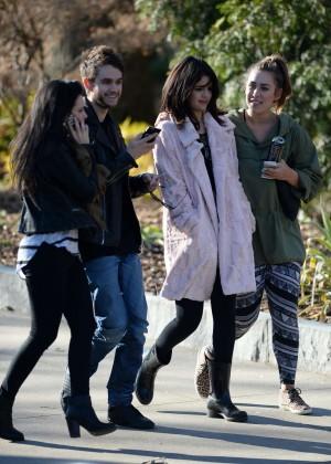 Selena Gomez in Tights -53