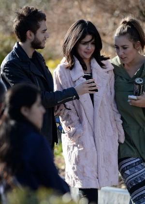 Selena Gomez in Tights -55