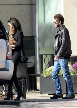 Selena Gomez in Tights -56