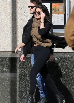 Selena Gomez in Tights -61