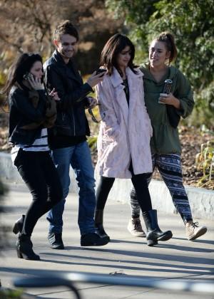 Selena Gomez in Tights -62
