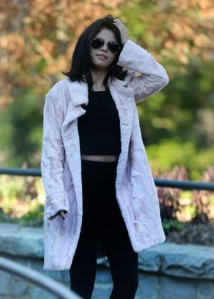 Selena Gomez in Tights -73