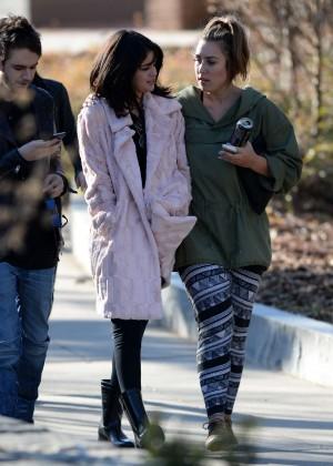 Selena Gomez in Tights -74