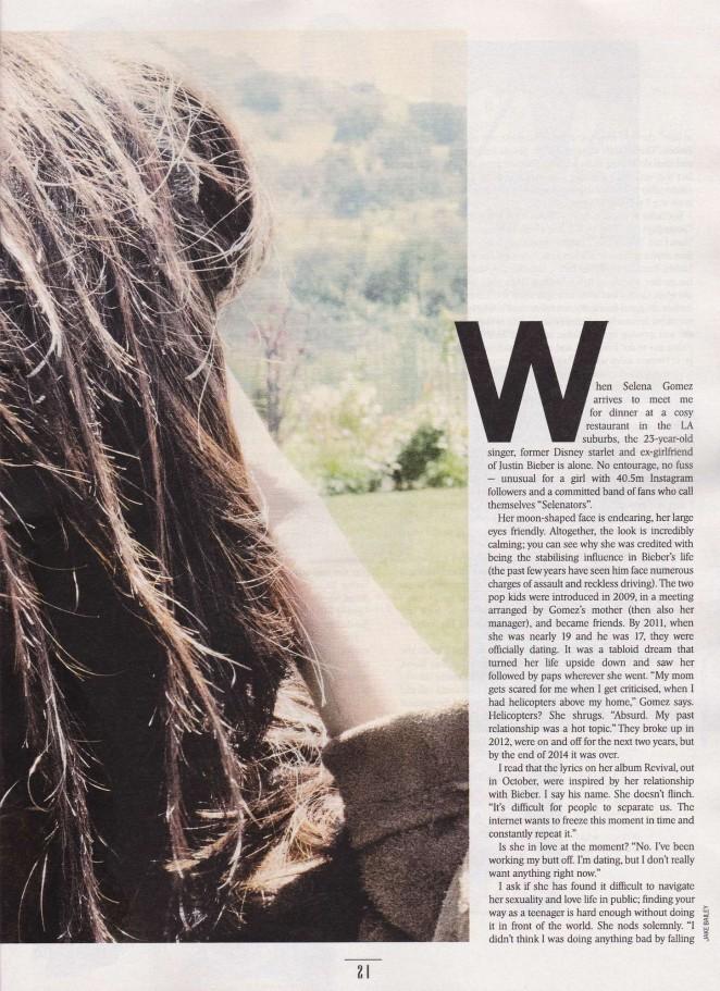 Selena Gomez: Sunday Times Style 2015 -02