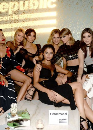 Selena Gomez, Taylor Swift and others - Republic Records VMA After Party in LA