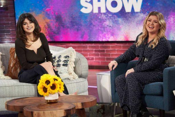 Selena Gomez - The Kelly Clarkson Show in Los Angeles