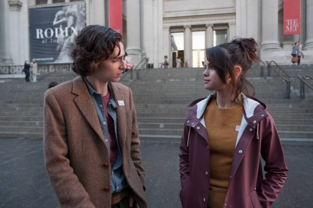 Selena Gomez, Timothee Chalamet and Elle Fanning - A Rainy Day in New York 2020