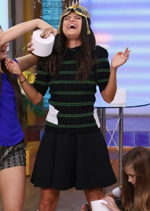 Selena Gomez - Univision's 'Despierta America' in Miami