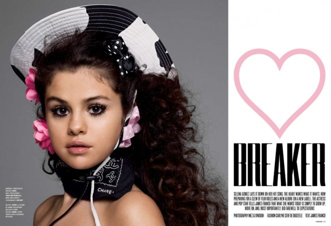 Selena Gomez: V Magazine 2015 -01