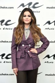 Selena Gomez - Visits Music Choice in NY