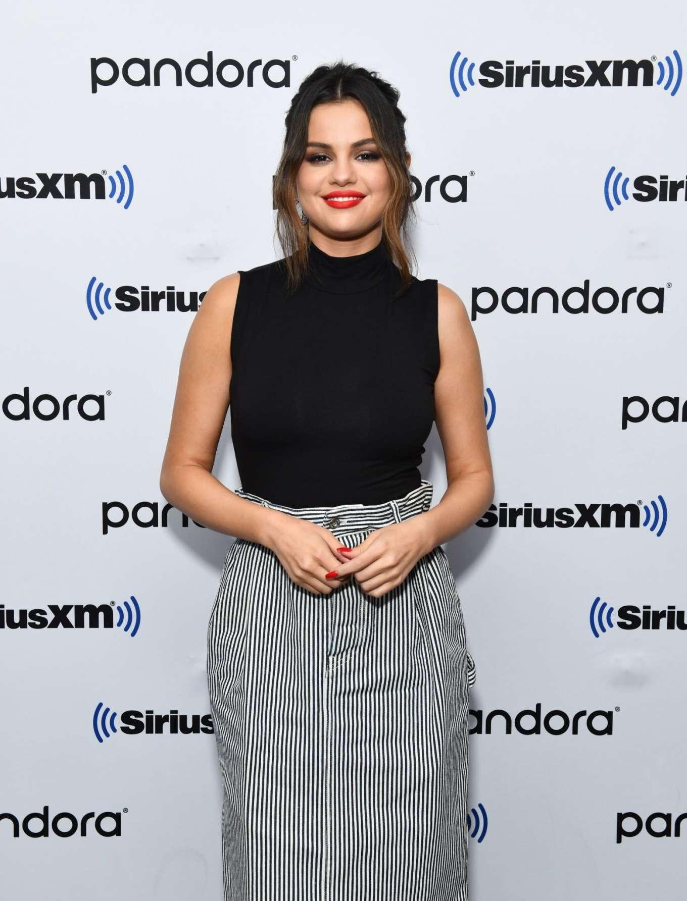 Selena Gomez - Visits SiriusXM Studios in NY