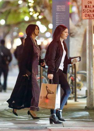 Selena Gomez Wears Pajamas Out In Santa Monica Gotceleb