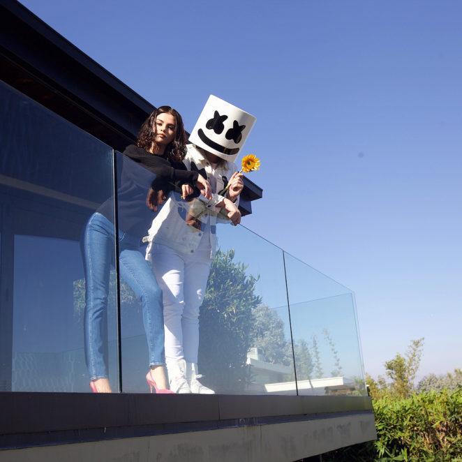 Selena Gomez x Marshmello Promotional Shoot for New Single 'Wolves'