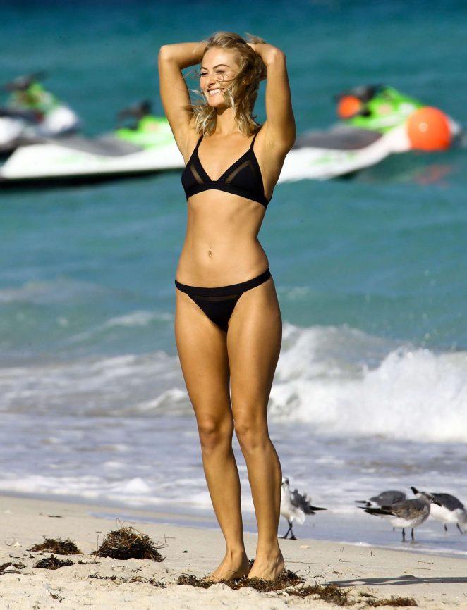 Selena Weber In Black Bikini 2016 03 Gotceleb
