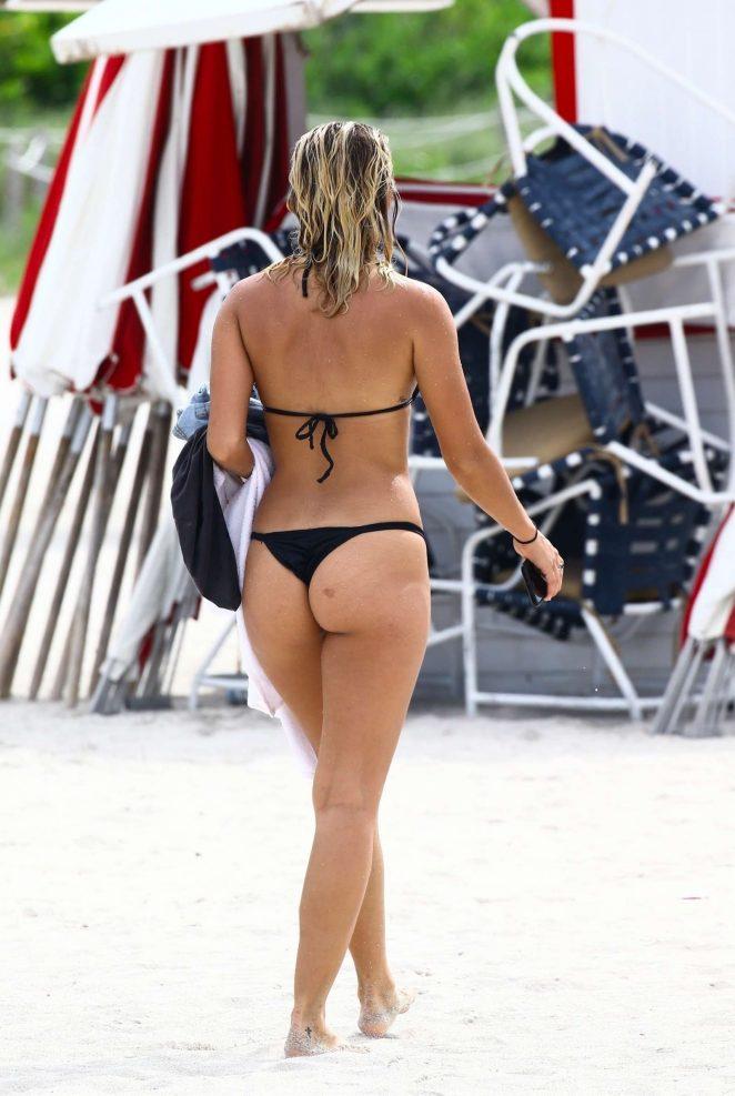 Selena Weber in Black Bikini 2017 -06