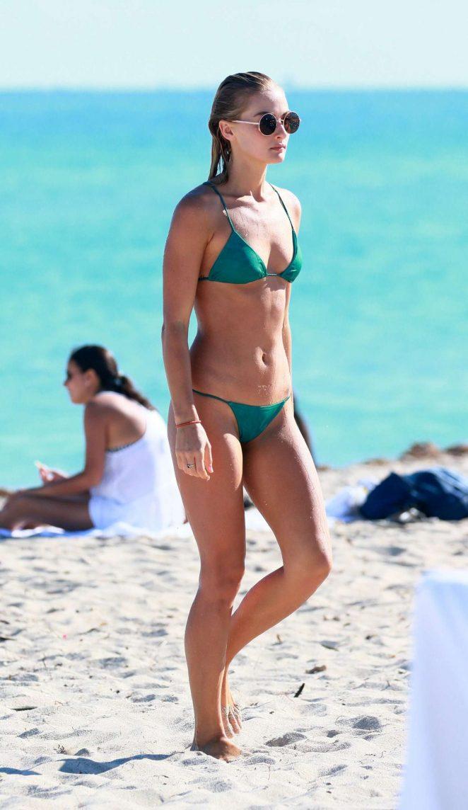 Selena Weber in Green Bikini 2016 -04