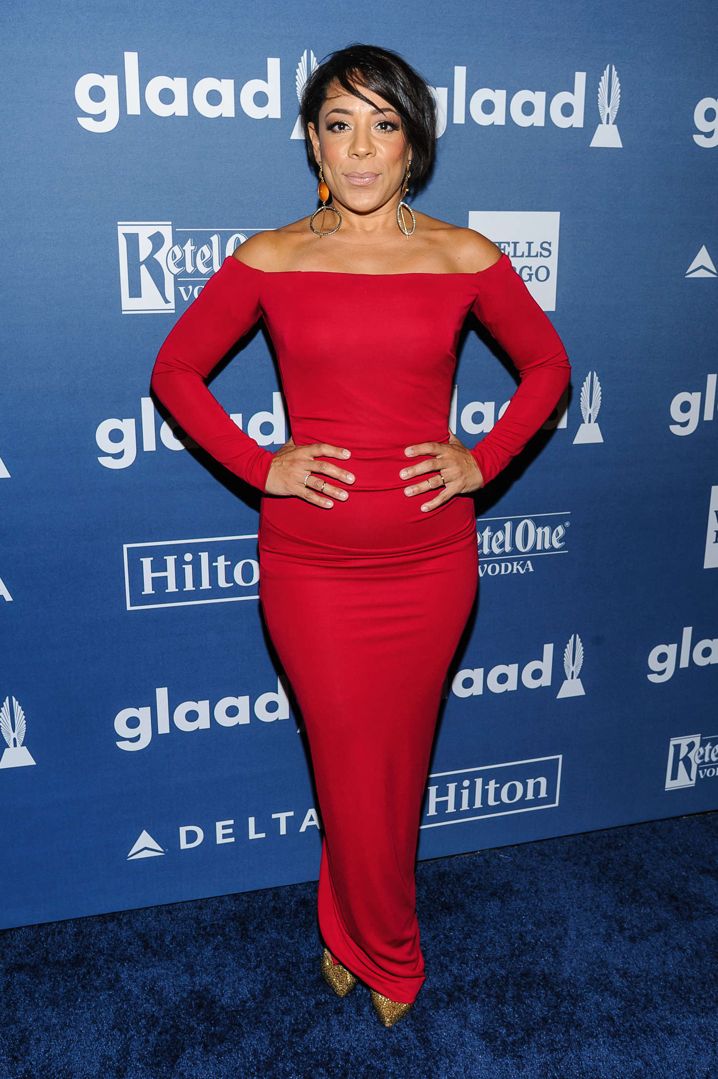 Selenis Leyva: 2016 GLAAD Media Awards -04 - GotCeleb