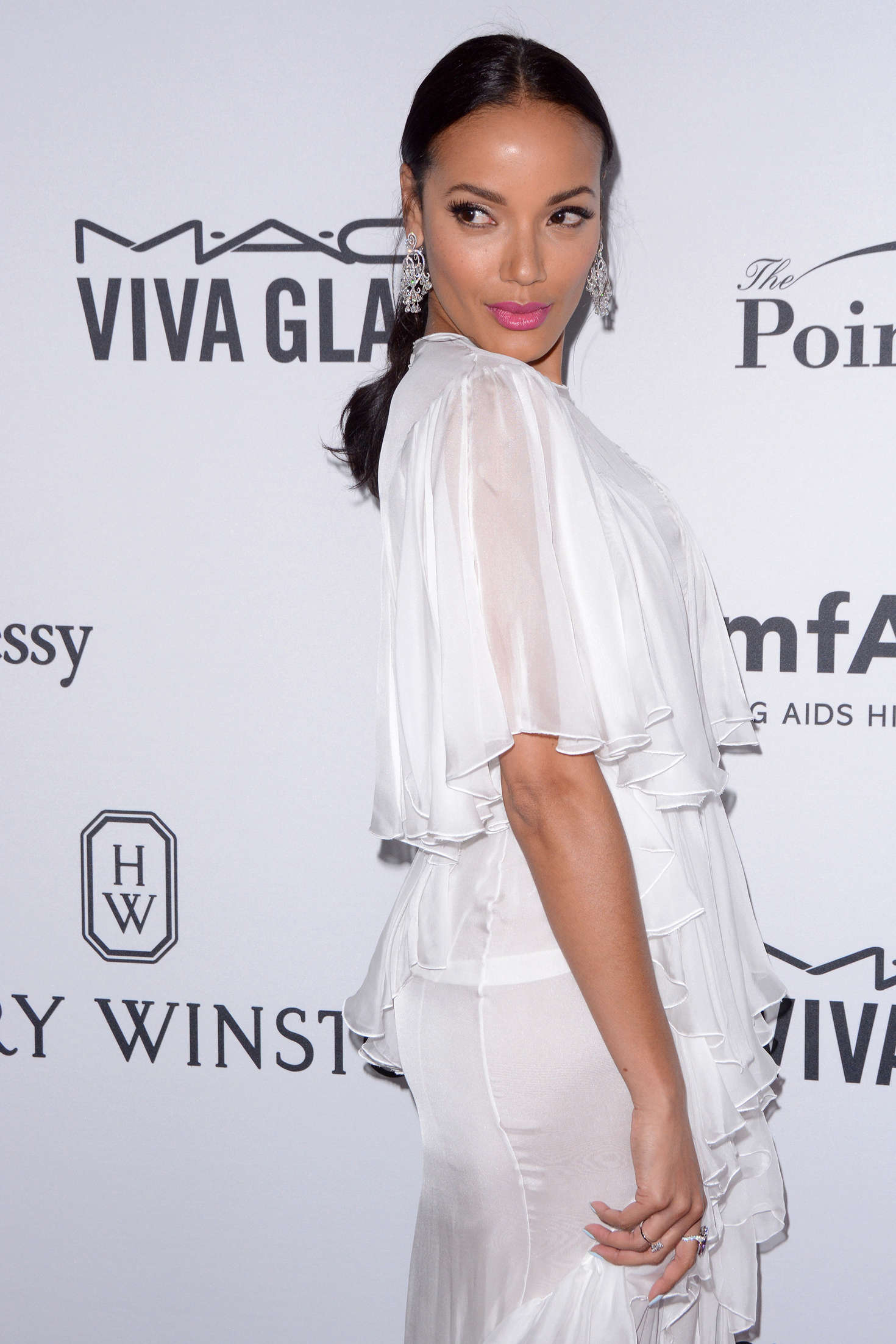 Selita Ebanks – 7th Annual amfAR Inspiration Gala in New ...