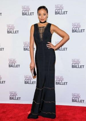 Selita Ebanks - New York City Ballet Spring Gala in New York