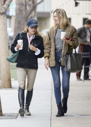 Selma Blair and Monet Mazur - Grab a coffee in Los Angeles