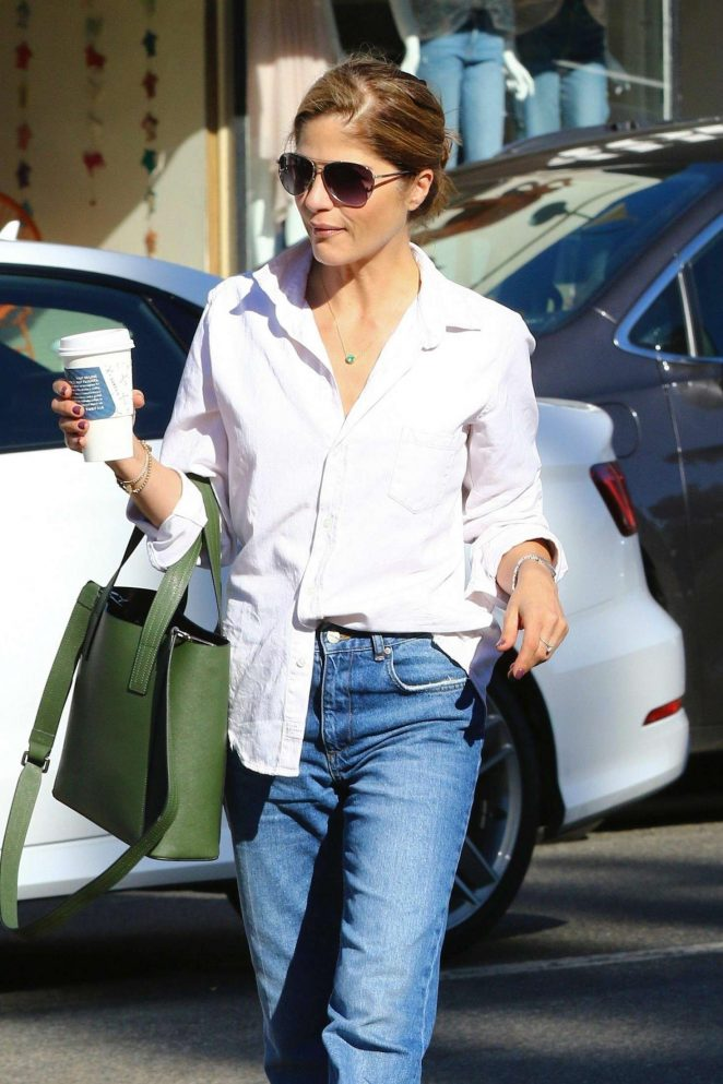 Selma Blair at Alfred's Coffee in Beverly Hills
