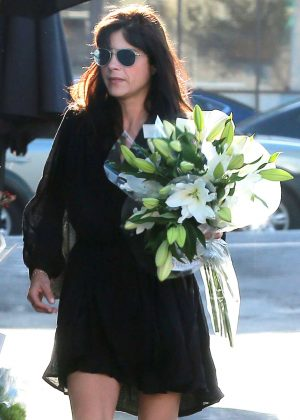 Selma Blair at Bristol Farms in West Hollywood