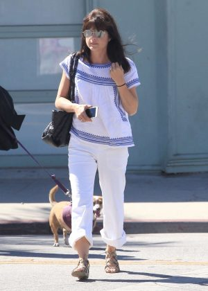 Selma Blair at Starbucks in Studio City
