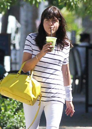 Selma Blair at The Orange Tree Juice Bar in Los Angeles