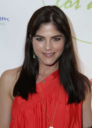 Selma Blair at WeVillage's LA Flagship grand opening in Los Angeles