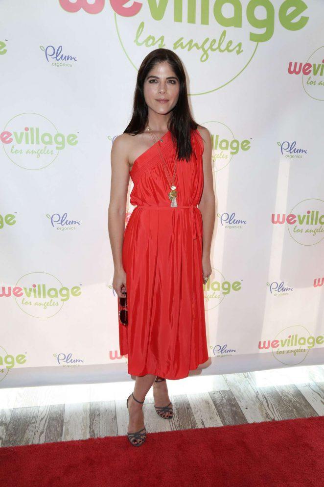 Selma Blair at WeVillages LA Flagship grand opening -10