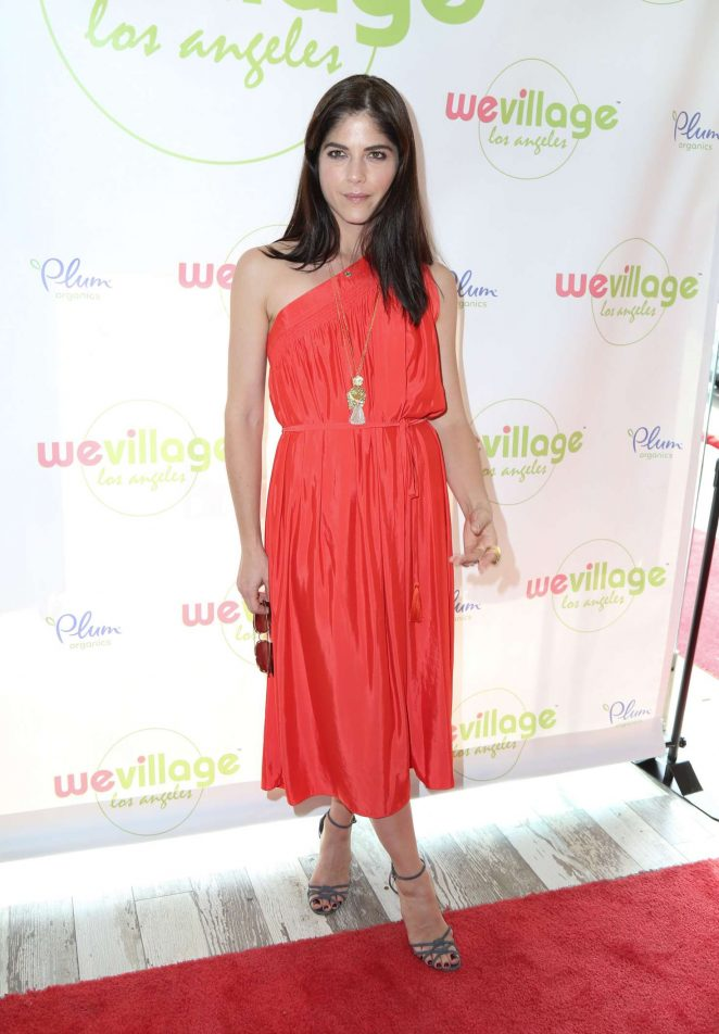 Selma Blair at WeVillages LA Flagship grand opening -13