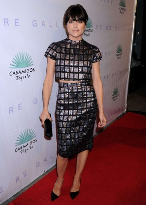 Selma Blair - Brian Bowen Smith's 'Metallic Life' Exhibition Opening in LA