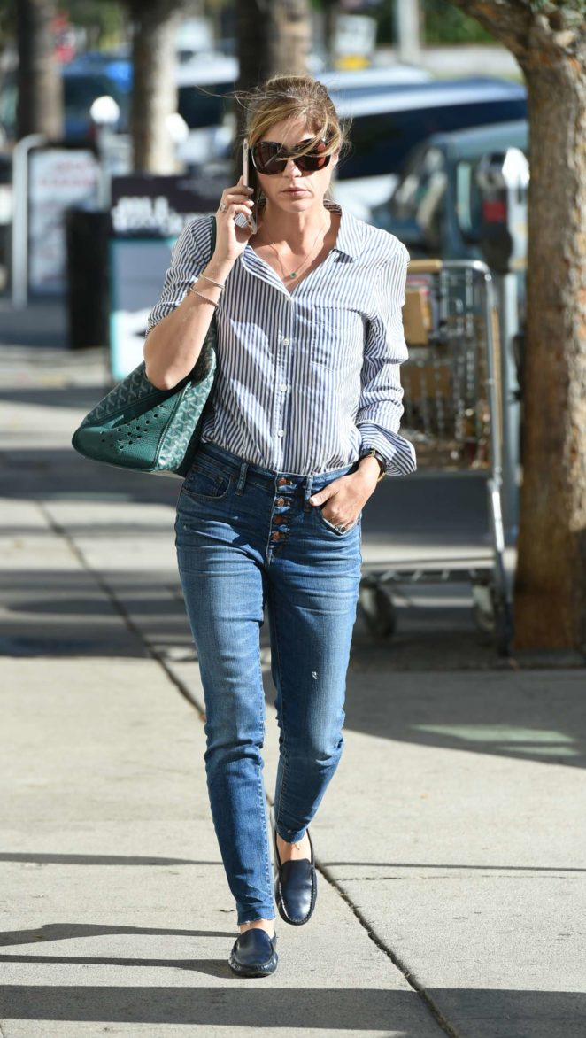 Selma Blair in Jeans - Out in Los Angeles