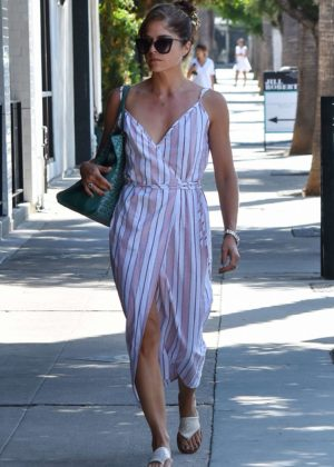 Selma Blair in Long Dress - Out and about in Los Angeles